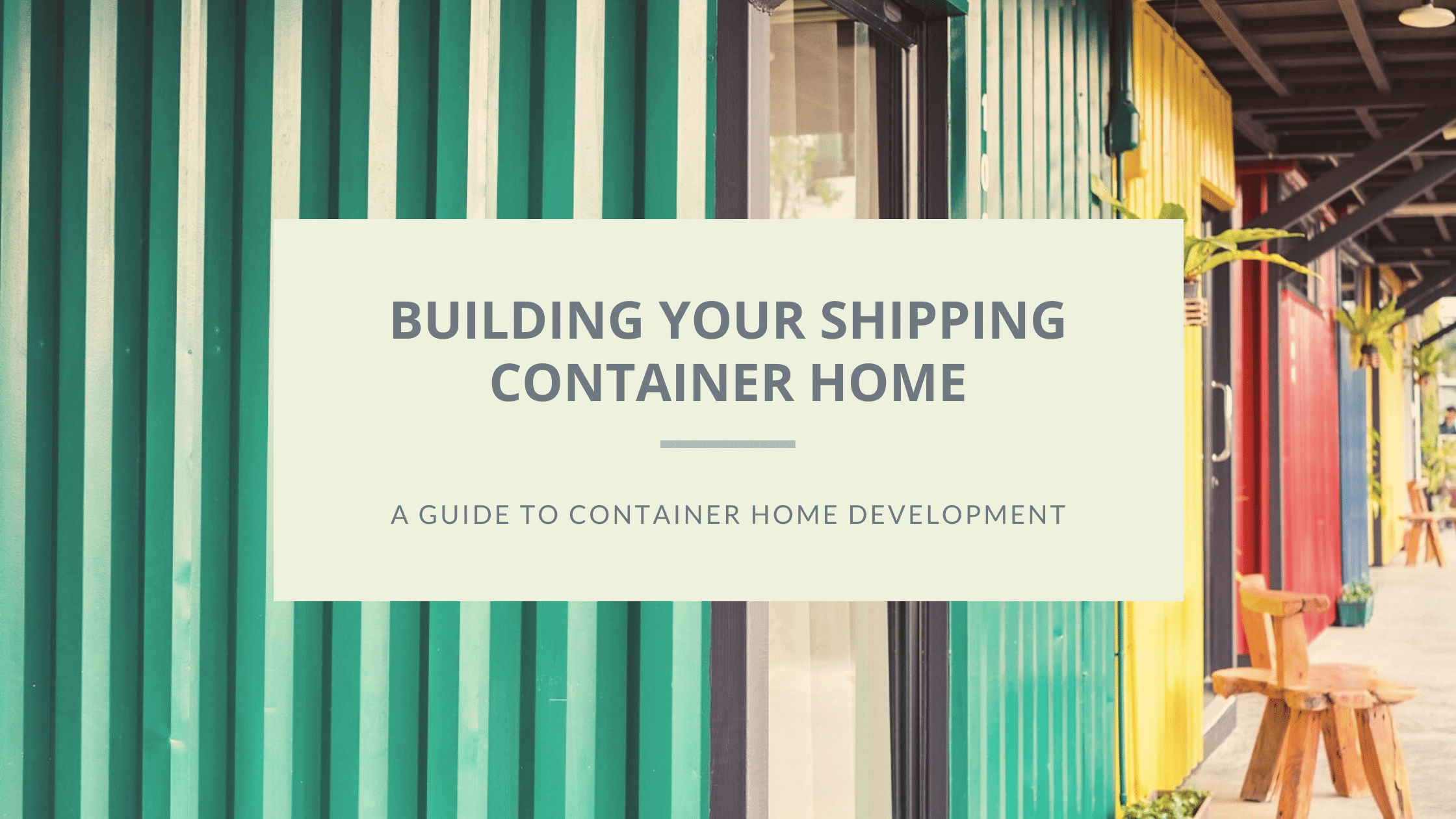 shipping container home featured